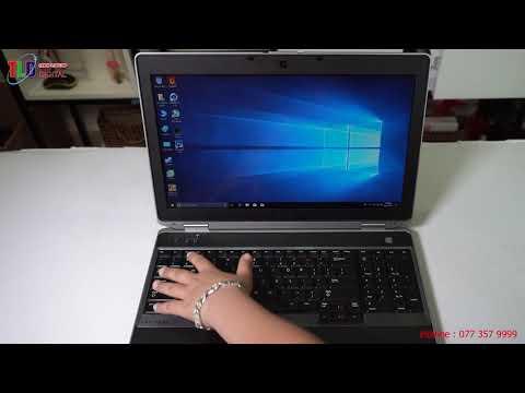 Laptop Dell Latitude 6530 Rẻ Bền Khấu Hao Thấp Quá Tốt Cho Dân Văn Phòng