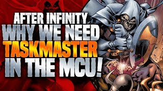 Taskmaster In The MCU ( Origin Of Taskmaster )