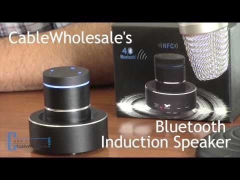 Bluetooth Vibrating Induction Speaker