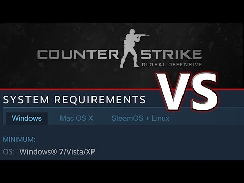 CS:GO Vs Its Own Minimum Requirements (2017)