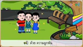 สื่อการเรียนการสอน ของเธอของฉัน ตอนที่ 2 ป.1 ภาษาไทย
