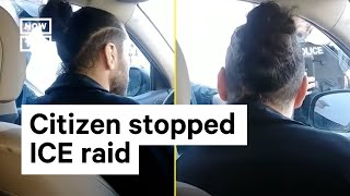 How This Citizen Stopped ICE From Arresting 2 Immigrants | NowThis