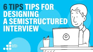 Semi-structured interviews guide I semi-structured interview protocol