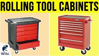 10 Best Rolling Tool Cabinets 2019