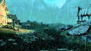 Skyrim Immersive Thunder V5 & Heavy Rain mods HD