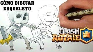 Cómo Dibujar ESQUELETO De CLASH ROYALE-MagicBocetos-Tutorial Paso A Paso