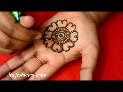 simple arabic mehndi design for hands by rajeshwari arun