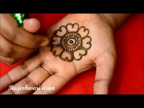 Simple Arabic Mehndi Design For Hands * Latest New Mehndi Design *Easy Beautiful Henna