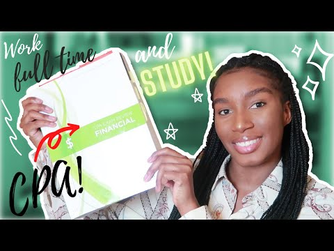 How I Study For FAR While Working FULL TIME! | CPA EXAM ...