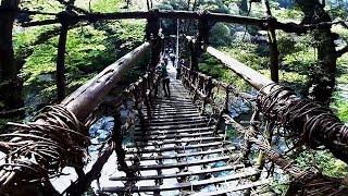 祖谷のかずら橋はスリル満点!徳島県の観光スポット2017