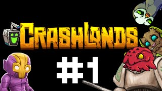 Crashlands Gameplay / Let's Play - Convalescent Petting - Part 1