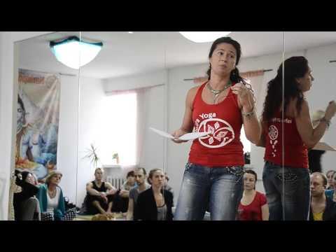 Юлия Солдатенко. О лекциях Основы йоги, Пранаямы, Шаткармы, Здоровое питание. 1 часть