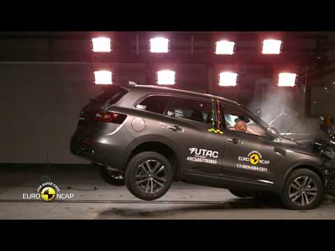 Euro NCAP Crash Test of Renault Koleos