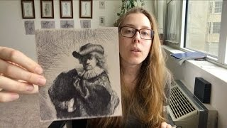 Atelier Diary | Studying Rembrandt Etchings