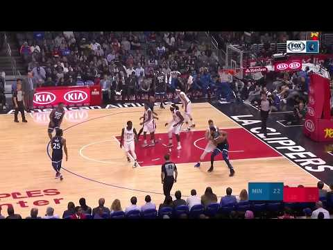 4e8547908a7b Highlights from the Timberwolves  loss to the Clippers