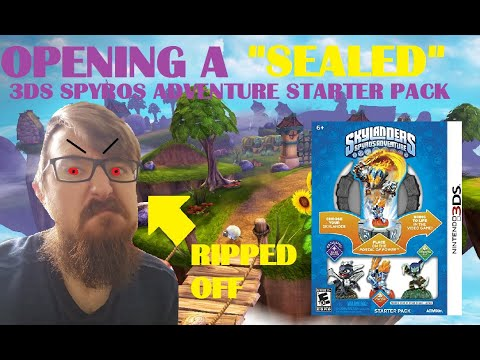 Opening a SEALED Starter Pack of Spyros Adventure! (I GOT RIPPED OFF!)