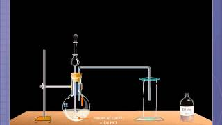 the preparation of calcium carbonate lab