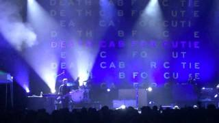 Ben Gibbard with Death Cab for Cutie has a breakdown