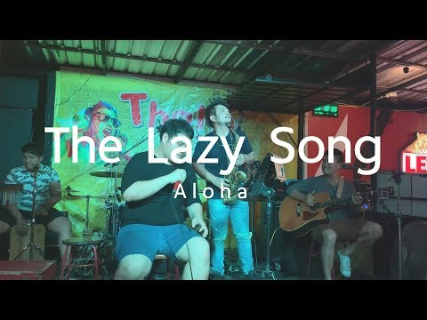 The Lazy Song - Bruno Mars [ Aloha Acoustic Cover ]