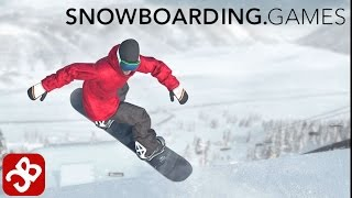 Just Snowboarding - iOS / Android - Gameplay Video