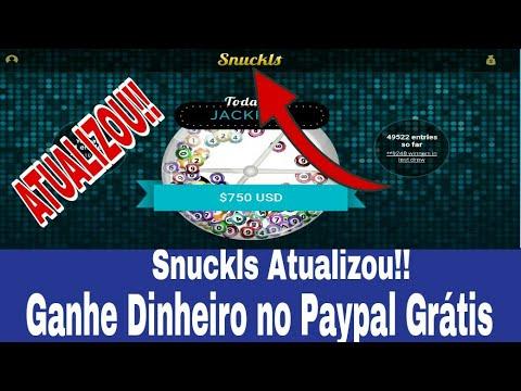 SNUCKLS ATUALIZOU!! Ganhe Dinheiro no Paypal Grátis Assistindo Vídeos