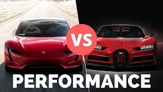Tesla Roadster 2020 vs Supercars - Will it Win on ALL Performance Metrics?