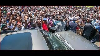 BREAKING NEWS: President Uhuru Kenyatta's motorcade involved in an accident; scores injured