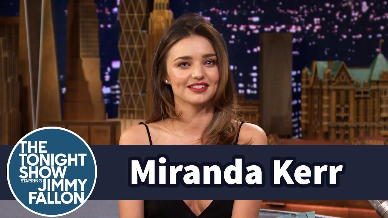 Miranda Kerr Teaches Jimmy Butt-Toning Exercises thumbnail