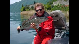 Рыбалка на озере комо италия