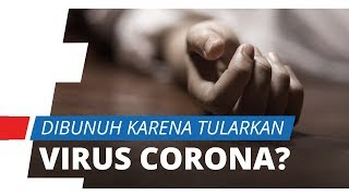 Diduga Tularkan Virus Corona, Seorang Dokter Dibunuh Kekasihnya di Italia
