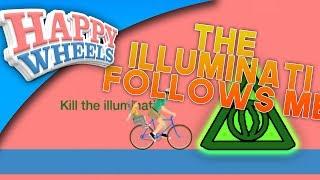 🔺DESTROYING THE ILLUMINATI FOR GOOD!! (Happy Wheels)