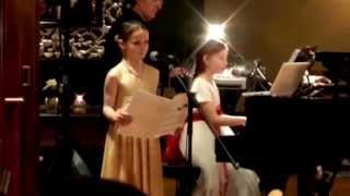 Amira Willighagen - Singing Duet with Alma Deutscher from Alma