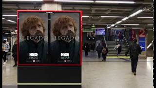 HBO announces Game of Thrones arrival at Metro de Madrid
