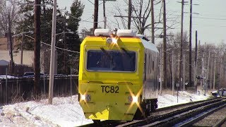 LIRR: March Friday Rush Hour at New Hyde Park