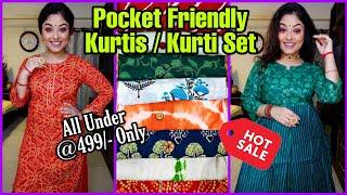 Kurta & Kurta Sets Under 499/-