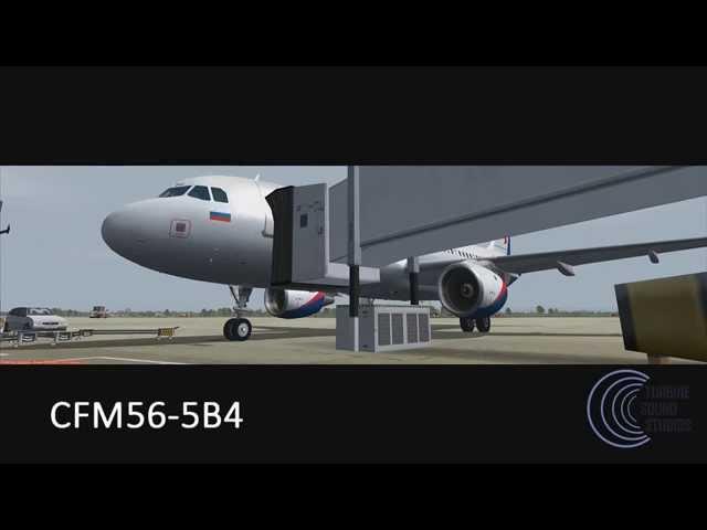 turbine sound studios airbus a320