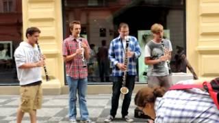 Video Busking Praha 8.8. 2012