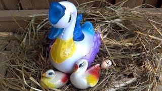 Trò Chơi Thiên Nga Đẻ Trứng – SWAN LAYING EGGS ❤ BIBI TV ❤