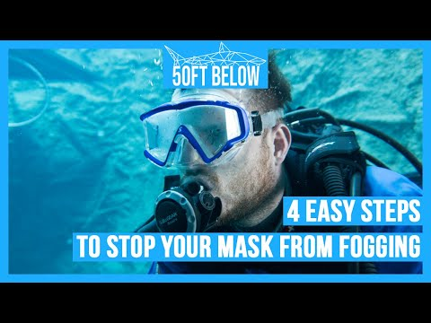 Stop Your Scuba Mask Fogging! | 4 Easy Anti-Fog Tips! | Scuba Advice