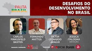 #aovivo | Desafios do desenvolvimento no Brasil