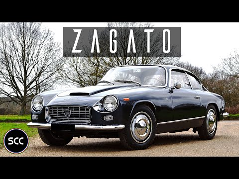 LANCIA FLAMINIA SUPER SPORT ZAGATO 2.8 3C 1967 - Test drive in top gear - Engine sound | SCC TV