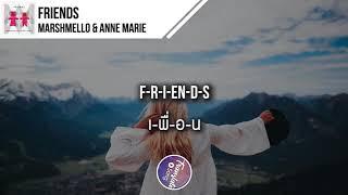 แปลเพลง Friends   Marshmello & Anne Marie