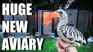 NEW AVIARY! Let's Build Grinchy's Bird Aviary!