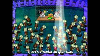 Zombie Vs Plants Music Video HD 1080p (End Credits) With MP3 Download!