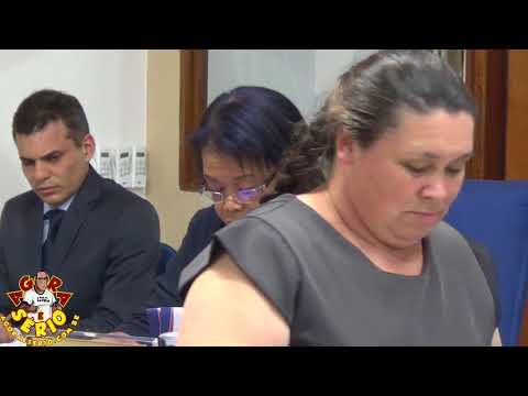 Vereadora Cida Nunes faz a Leitura do Relatório do Tribunal de Contas do Ex Prefeito Francisco Junior dia 5 de Setembro de 2017