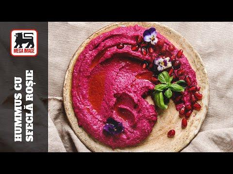 0 Hummus de sfeclă roșie