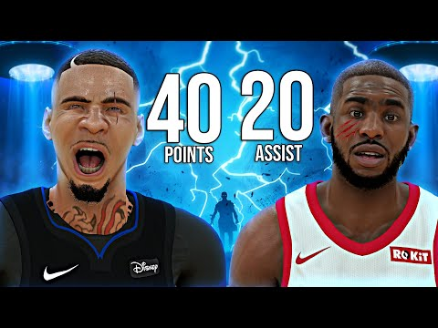 NBA 2K19 MyCAREER - INSANE 40 POINTS 20 ASSIST! Embarrassing CP3!