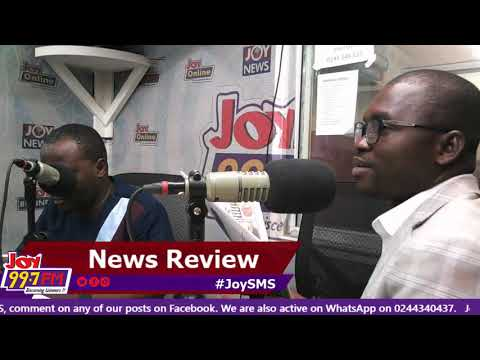 #JoySMS Newspaper Review on Joy FM (3-9-18)
