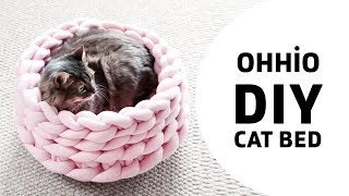 DIY: HOW TO MAKE A CAT BED WITH OHHIO BRAID (NEW)
