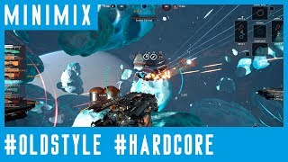 [MINIMIX hardcore classics] oldskool techno early 90's (fractured space gameplay)